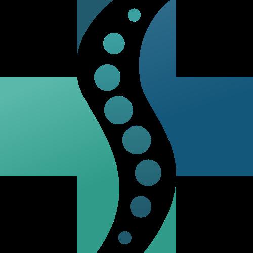 绿色十字矢量logo