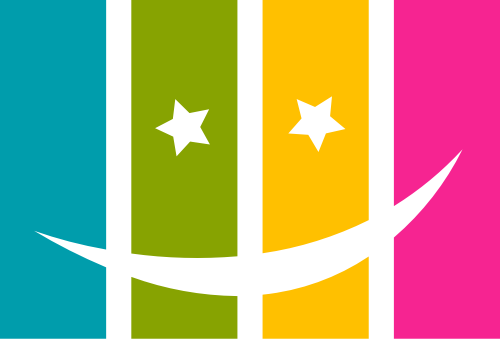 彩色笑脸矢量logo元素矢量logo