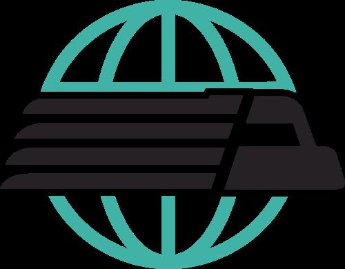绿色货车丢球矢量logo