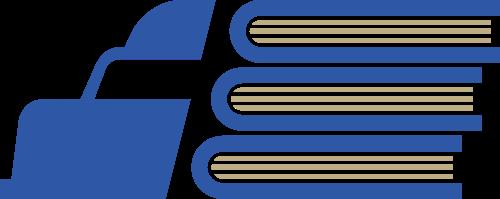 蓝色货车矢量logo