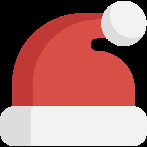 红色圣诞帽矢量logo矢量logo