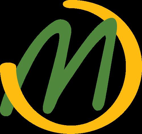 绿色字母M矢量logo