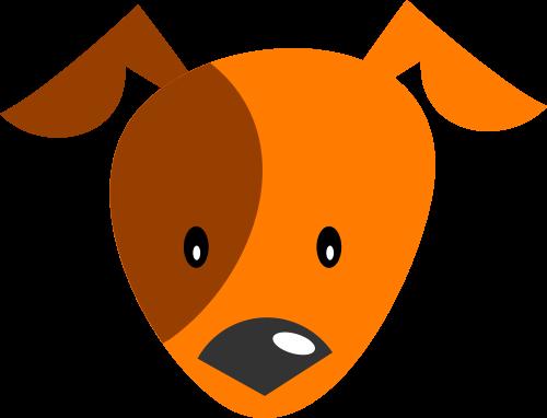 狗头像矢量logo图标矢量logo