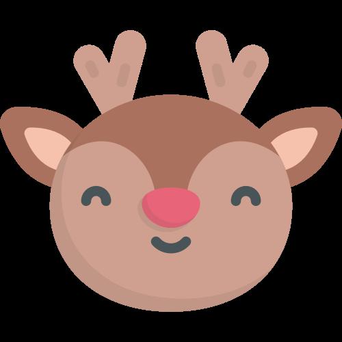 棕色小鹿矢量logo元素矢量logo