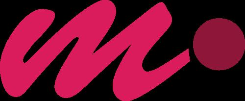 粉色字母M矢量logo