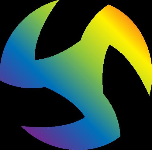 彩色游戏矢量logo