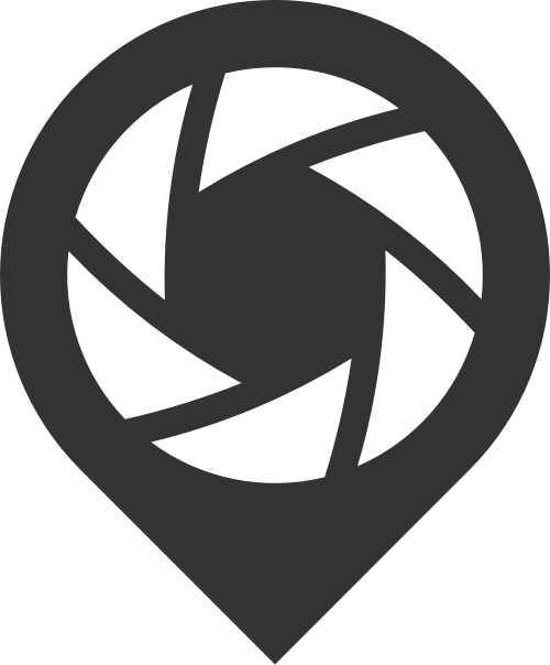 黑色摄像照相机矢量logo图标
