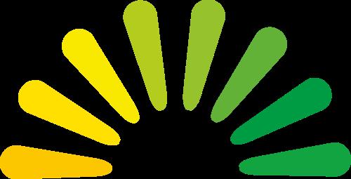 彩色社团矢量logo