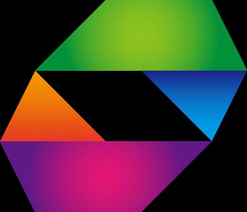 彩色立体抽象矢量logo矢量logo