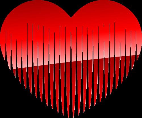 红包爱心矢量logo图标