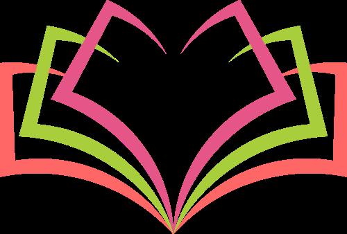 彩色书本矢量logo