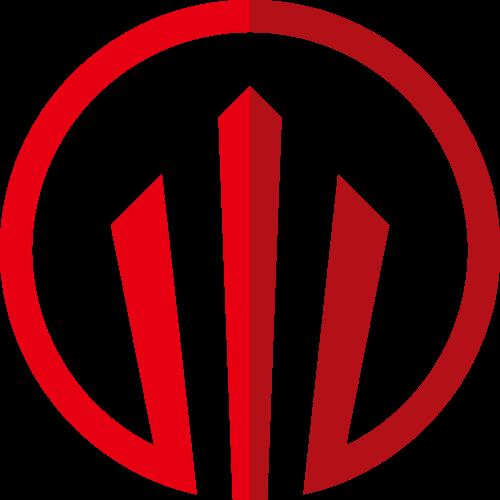 红色金融矢量logo元素