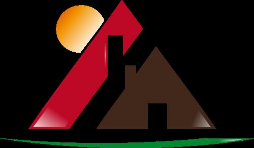 棕色房子矢量logo矢量logo
