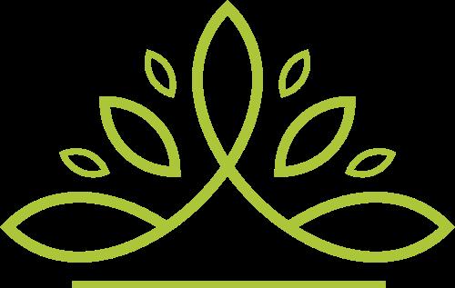 绿色叶子矢量logo
