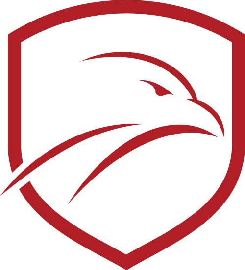 红色鹰盾牌矢量logo矢量logo