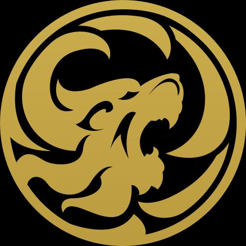 金色圆形老虎矢量logo矢量logo