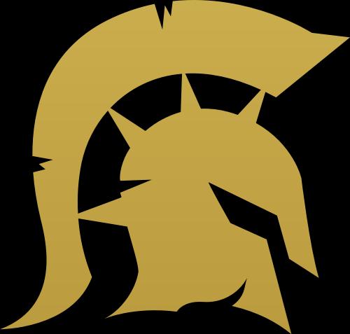 金色勇士矢量logo