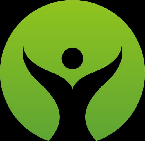 绿色圆形叶子矢量logo矢量logo