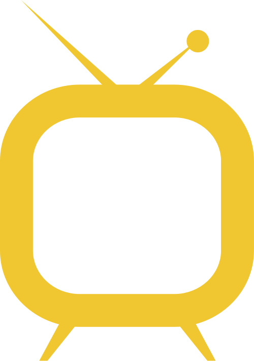 黄色视频矢量logo