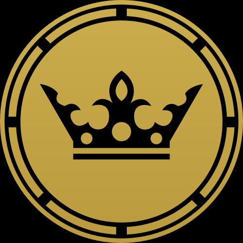 金色皇冠矢量logo