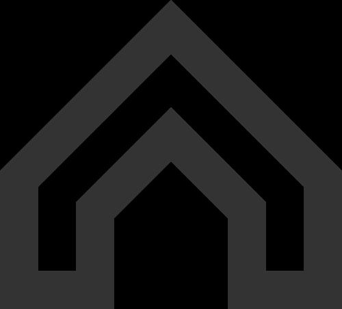 黑色房子矢量logo图标