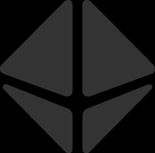 黑色钻石矢量logo