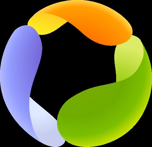 彩色软件矢量logo