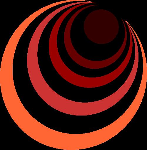彩色科技矢量logo