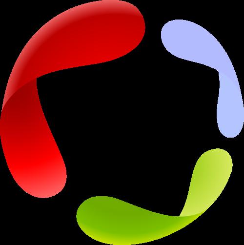 彩色创意矢量logo图标