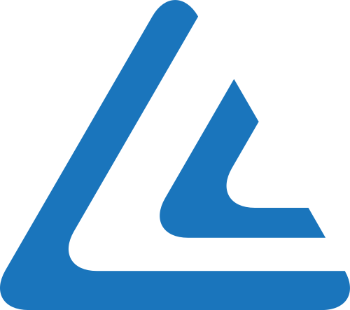 蓝色角形矢量logo