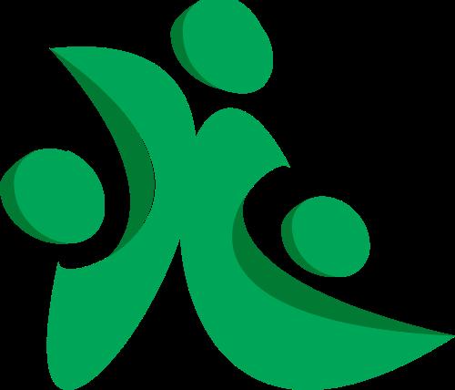 绿色字母X矢量logo