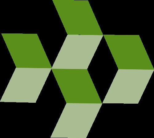 绿色科技矢量logo图标