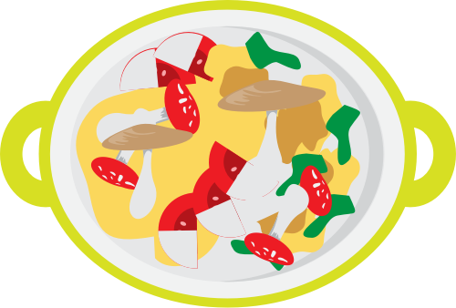 绿色沙拉矢量logo矢量logo