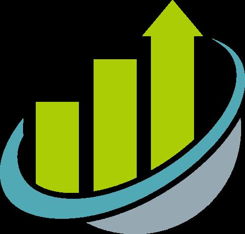 彩色箭头商业矢量logo