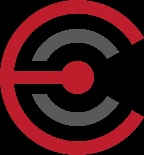 红色金融矢量logo图标