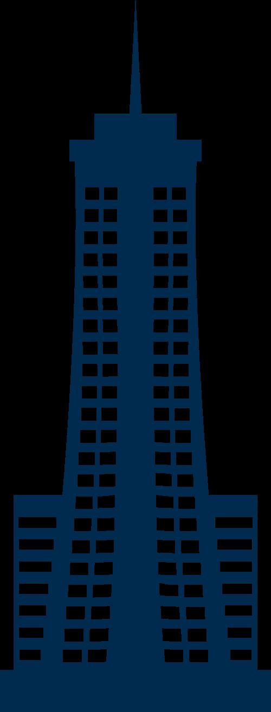 蓝色建筑矢量logo