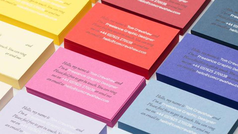 好的名片颜色设计提升你的品牌价值