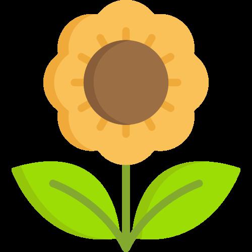 向日葵矢量标识