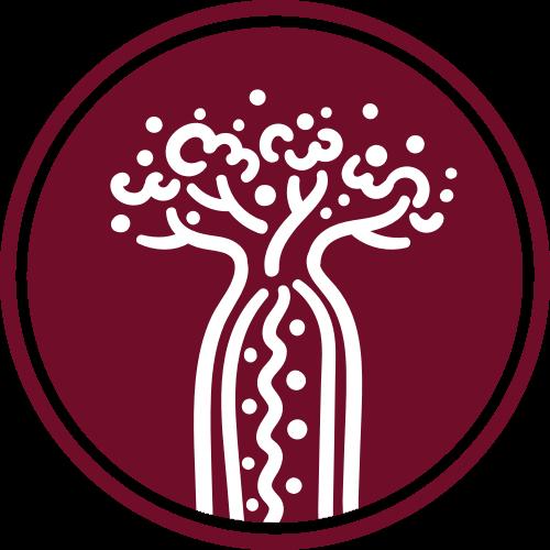 圆形瓶子树矢量logo图标