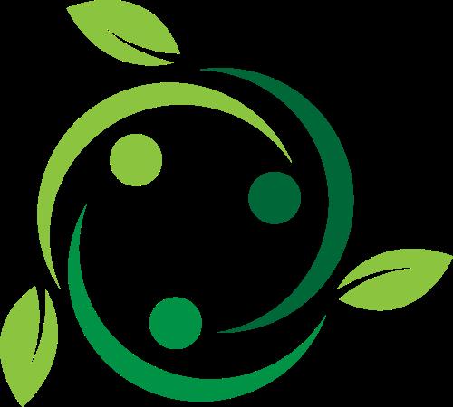 植物绿色环保矢量logo图标