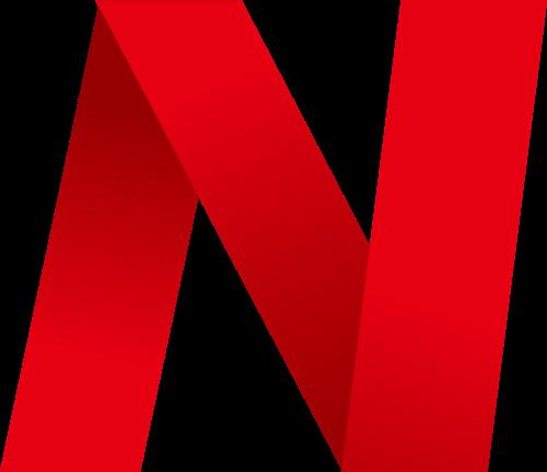 红色字母N折纸logo素材图片