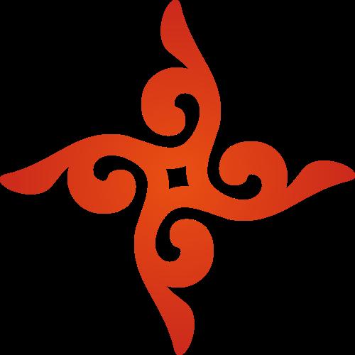 中国红色古典风格图案logo设计素材