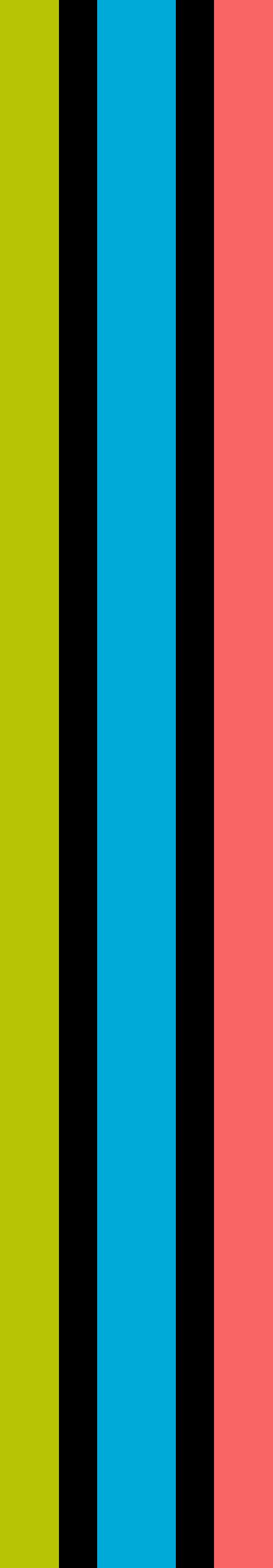 字母I三色logo设计素材