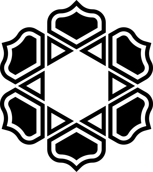 六边形钻石珠宝花纹图案矢量图标素材矢量logo