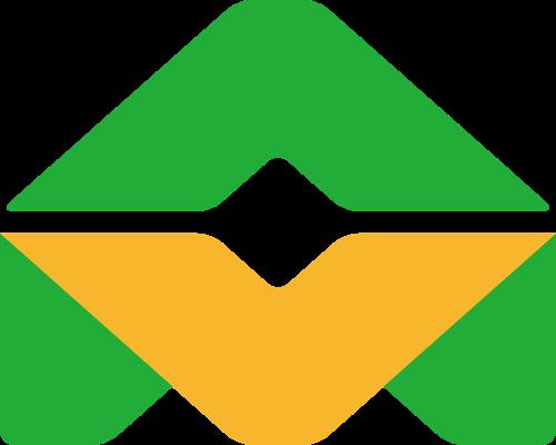 双色抽象LOGO素材图标
