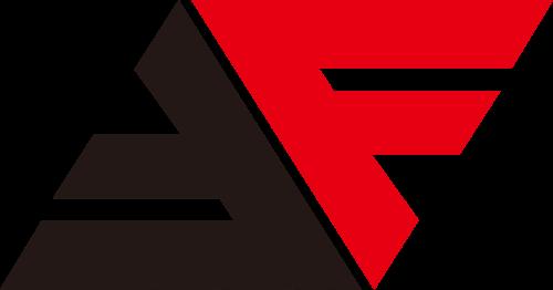 字母F抽象综合LOGO图标