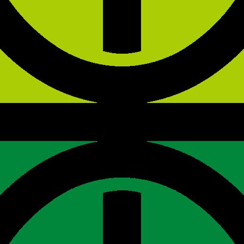 绿色抽象综合LOGO图标素材