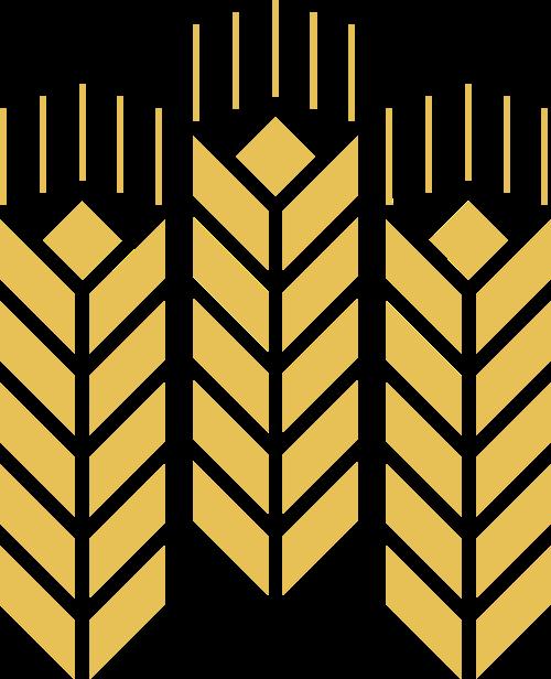 金黄麦穗粮食农业相关logo设计素材矢量logo