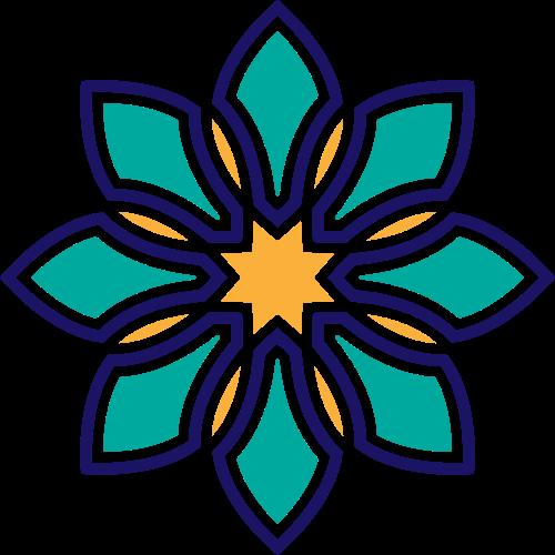 工艺品珠宝相关花形图案矢量logo素材