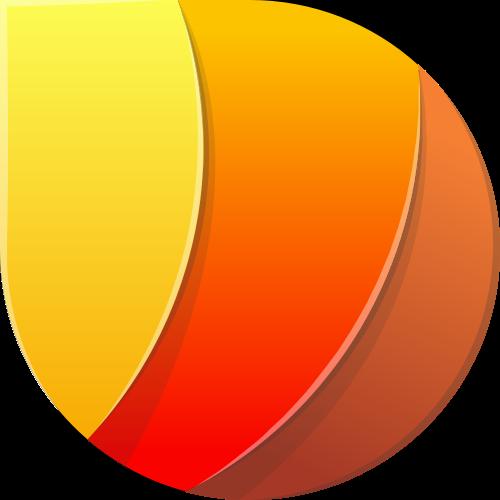 彩色立体矢量图形